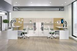 HON-Workwall Inside Desks