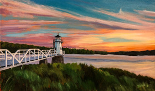 Sunset at Doubling Point  SOLD
