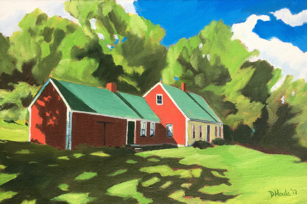 Little Red Farmhouse