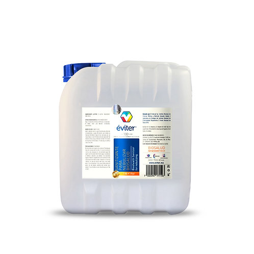 Sanitizante para nebulizar Eviter 4L
