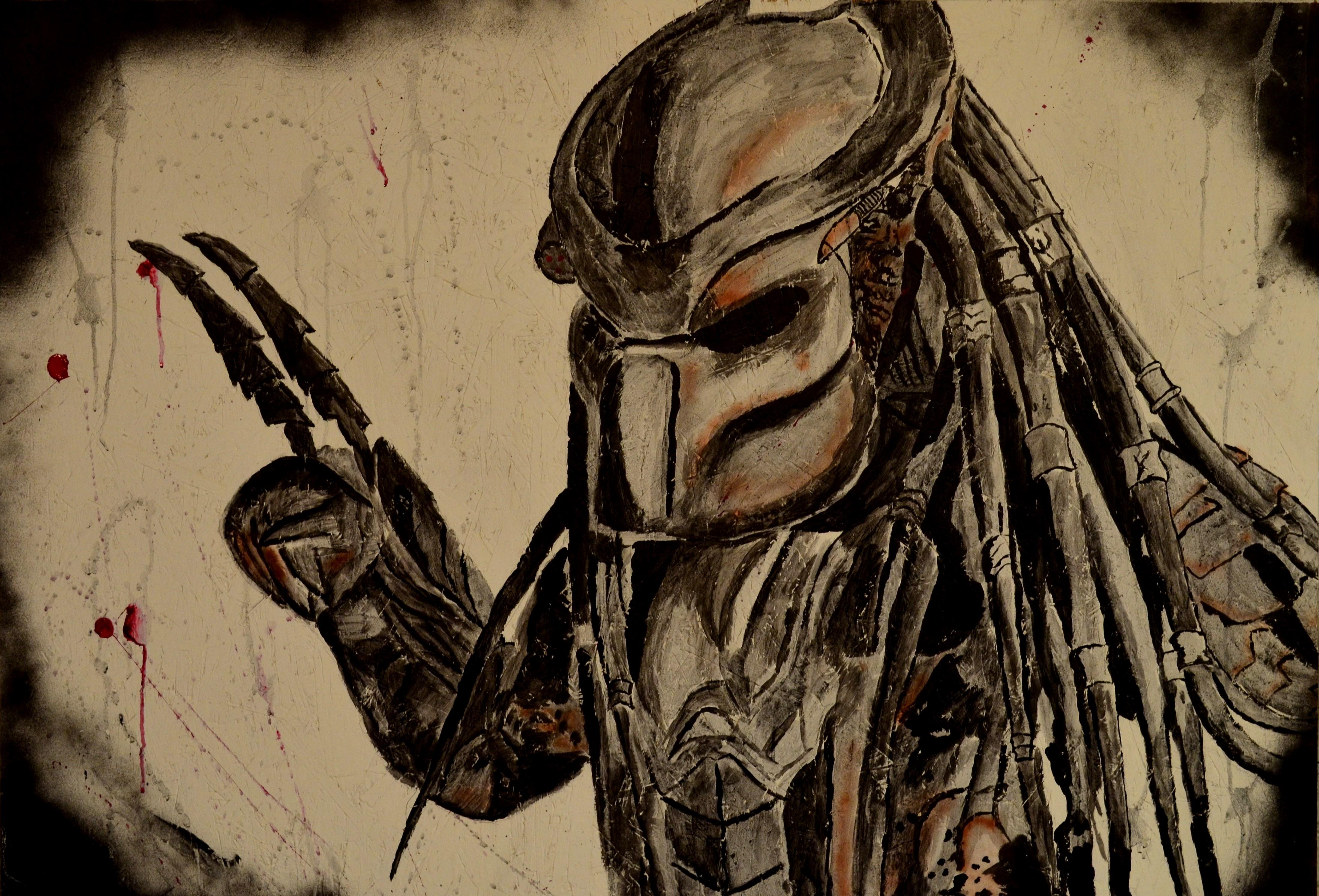 Predator Painting