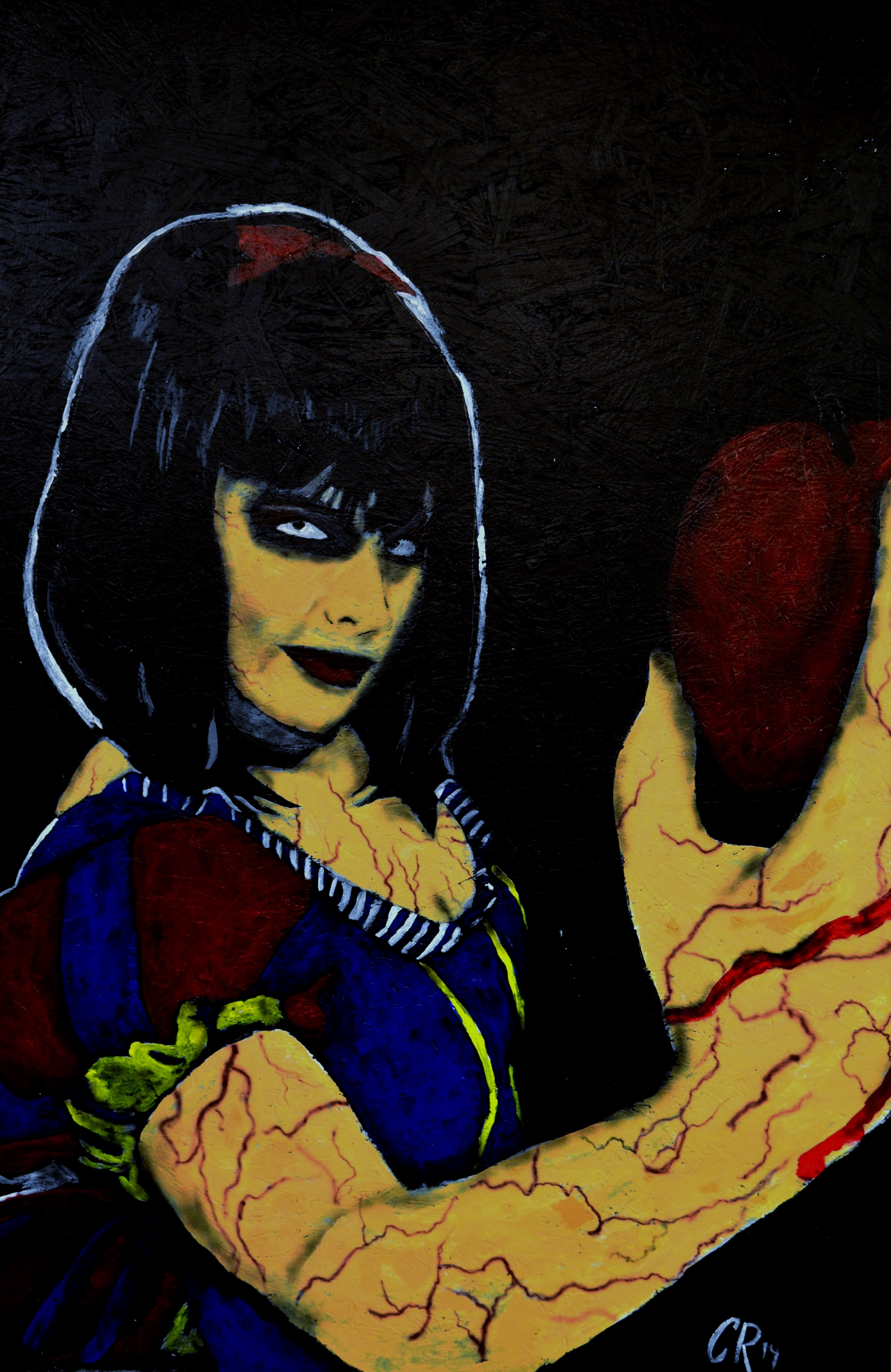 twisted snow white painting
