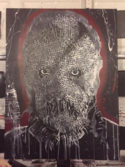 Scarcrow 36x48 canvas