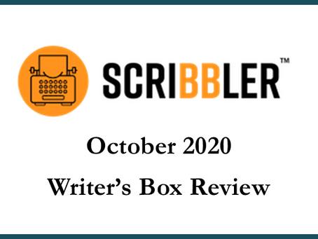 Scribbler Box Review Oct 2020