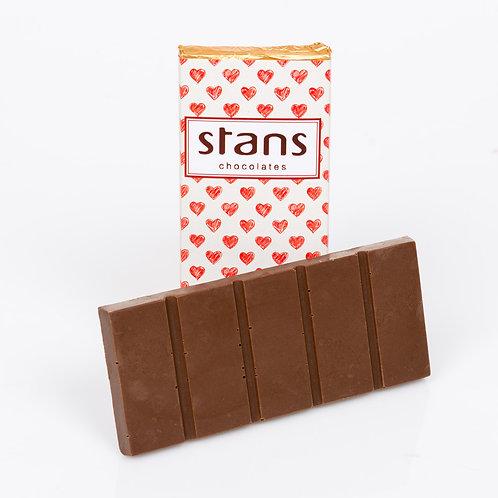 Barra de chocolate ao leite 40g
