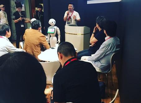 療育と障害児保育にテクノロジー・コラボレーション。療育用ロボットアプリをSoftbank World2019で展示・発表