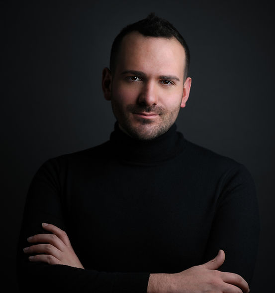 Opera Singer Vincent Festa - portrait by