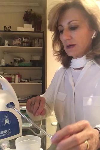 Como preparar los aerosoles