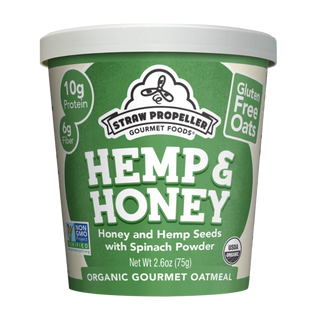Veggie Hemp & Honey Oatmeal