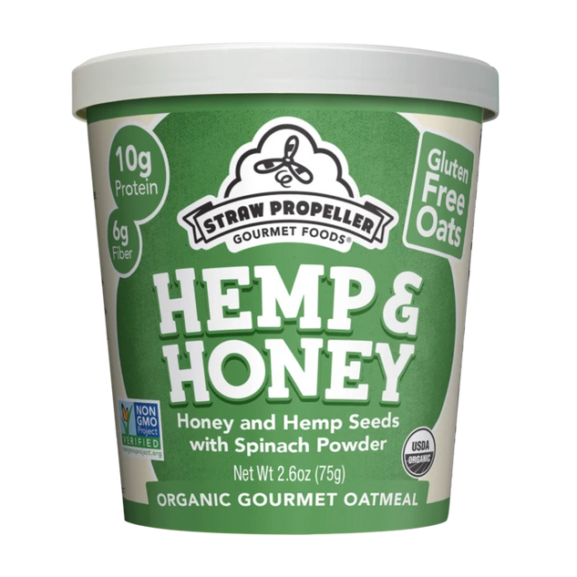 Veggie Hemp & Honey Oatmeal
