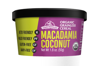Grainless Macadamia Coconut Cereal