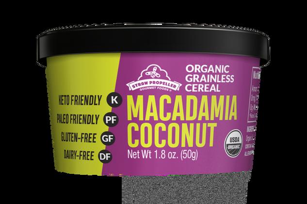 Grainless Macadamia Coconut Cereal