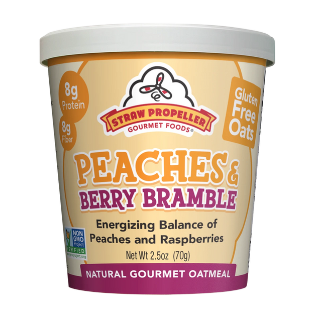Peaches & Berry Bramble Oatmeal