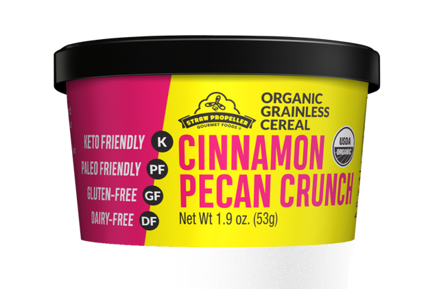 Grainless Cinnamon Pecan Cereal