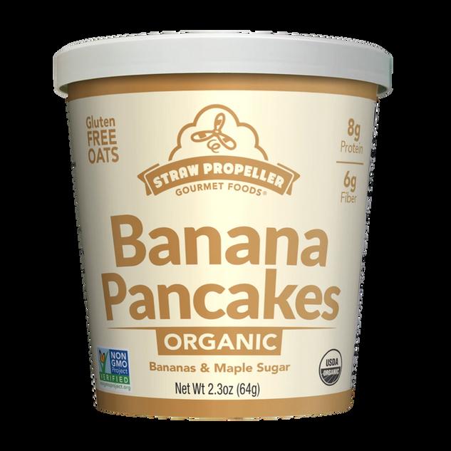 Banana Pancakes Oatmeal