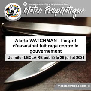 Alerte Watchman : L'esprit d'assassinat fait rage contre les chefs de gouvernement