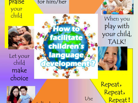 How to facilitate your child's language development?