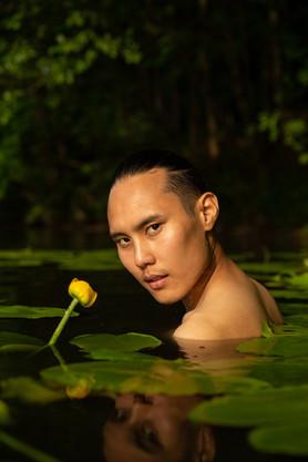 В пруду