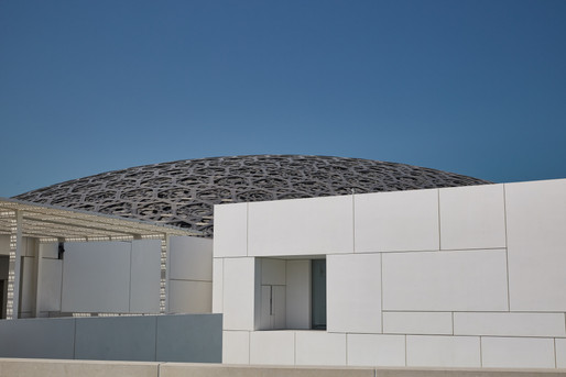 Лувр, Абу Даби, ОАЭ.