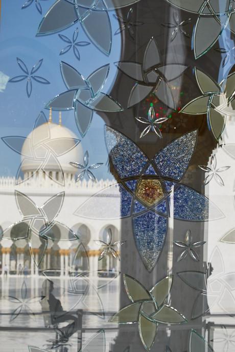 Большая мечеть в Абу Даби, ОАЭ