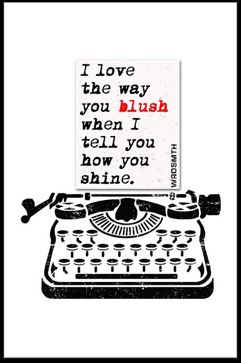 Blush Shine 2.0 - Open Edition Print