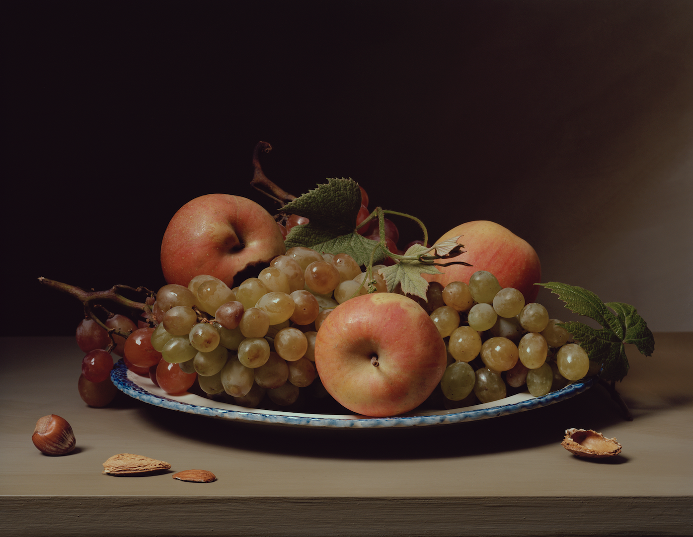 SharonCore_StillLifewithApples&Grapes.ti