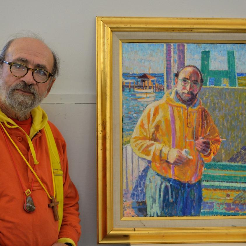 Artist Sam Barber: Painting Demonstration