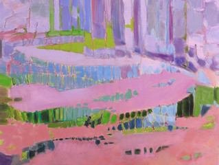 Suzanne M. Packer Cape Waters Abstracted