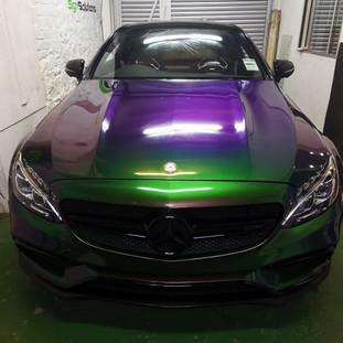 Mercedes C63 wrap
