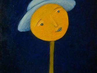 The moon in a silver cap, la grazia della luna