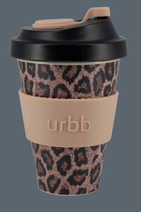 limited edition | reusable coffee cup | leopard | urbb | safari