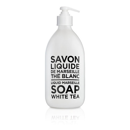 Compagnie De Provence | Black & White Liquid Marseille Soap White Tea 500ml