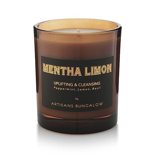 Artisans Bungalow Mentha Limon Soy Candle