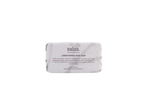 Salus | Lemon Myrtle Milk Soap 180g