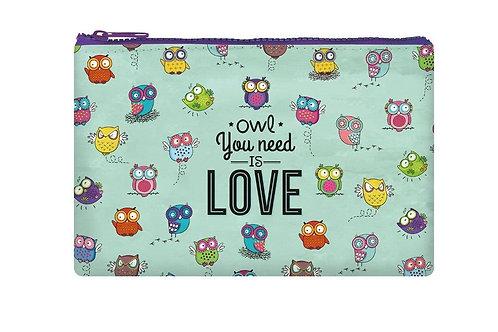 Legami | Owl Zipper Pouch