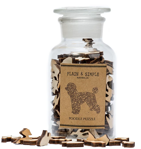 Poodle - Wooden Jigsaw Puzzle