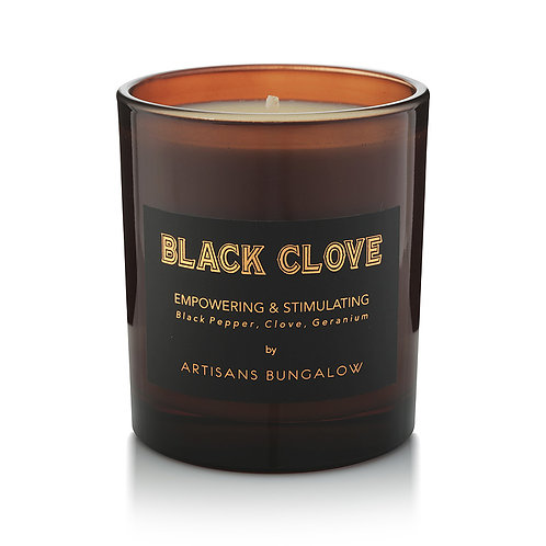 Artisans Bungalow Black Clove Soy Candle