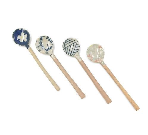 Printed Ceramic Teaspoons