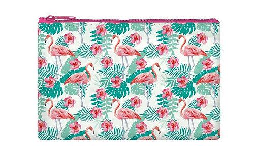 Legami | Flamingo Zipper Pouch