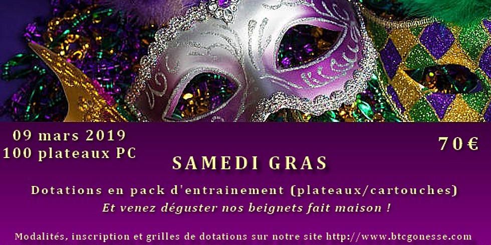 """""""SAMEDI GRAS"""" COMPETITION 100 PLATEAUX PARCOURS (PC)"""