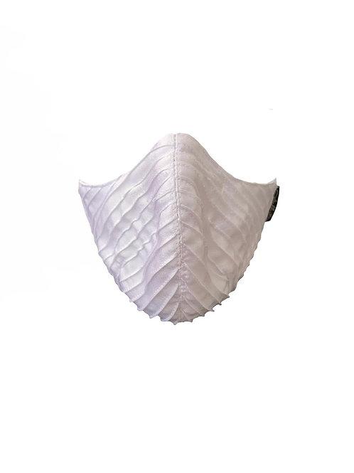 Mask Branca Clássica com Nervuras Espinha de Peixe