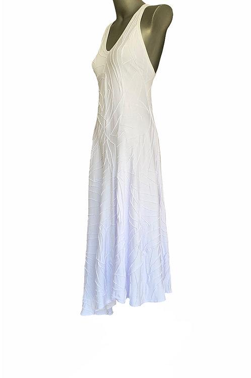 VLL/ 0428 - Vestido Viscose com Nervuras Folies