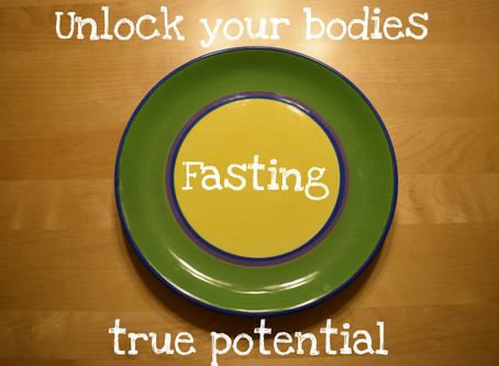 Why fasting is right for me...