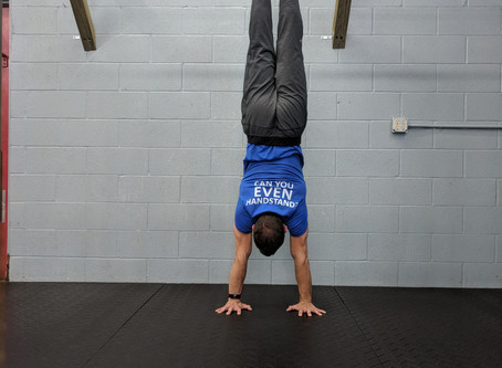 MY HANDSTAND JOURNEY AND WHAT IT'S TAUGHT ME