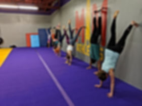 A handstand workshop in Syracuse NY