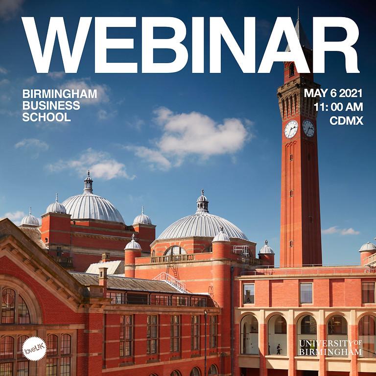 Webinar Birmingham Business School