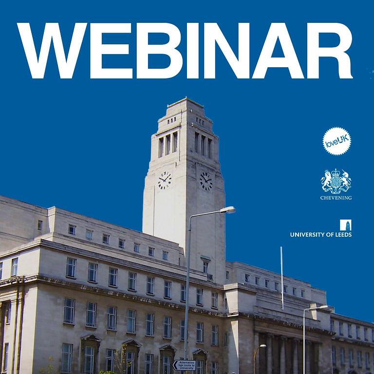 University of Leeds Webinar