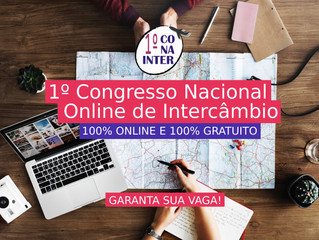 loveUK participará do 1° Congresso Nacional Online de Intercâmbio