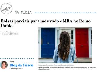 Bolsas parciais para mestrado e MBA no Reino Unido