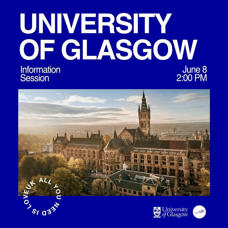 Webinar University of Glasgow